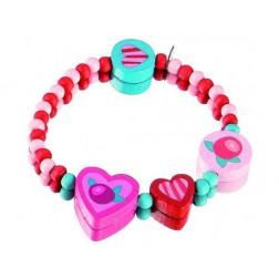 HB Браслет Розовые сердца