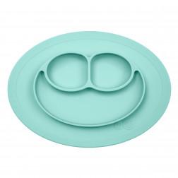 Тарілка-килимок блакитний