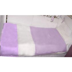 ТР підодіяльник + наволочка в смужку 100 * 135 violette