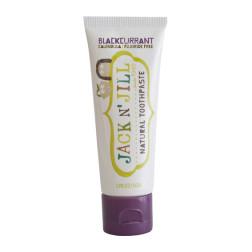 Натуральна зубна паста Jack N' Jill  (зі смаком чорної смородини)  (50g)