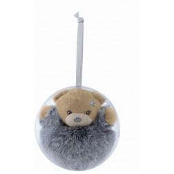 "Mini ours boule de noel Новорічна ""іграшка-ведмідь"""