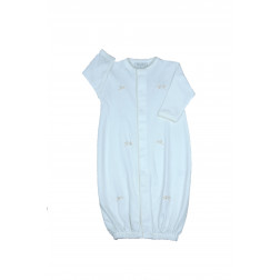 Сукня-повзунки з лелеками